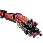 3D Jigsaw Puzzzle The Train for Magic School, 201PCS