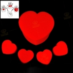 Magic Trick Toy - Jumbo Sponge Heart, Special for Valentines Day Gifts
