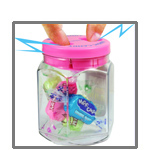 Magic Trick Candy Jar Funny Electric Shock Gadget