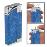 2 in 1 (Lighter + Electric Shock) Magic Trick Prank (Blue)