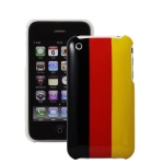 Germany Flag Style Plastic Case for iPhone 3G/ 3GS,without blister packaging , with cheaper shipping cost