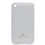 White Replacement Back cover for iPhone 3GS (16GB), with Logo