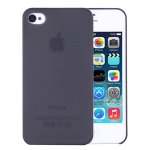 0.3mm Ultra-thin TPU Case for iPhone 4/4S (Black), Transparent version / Matte Edition