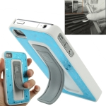 Multi Functional Protective Cover with Pop-Up Stand Cases for iPhone 4 &amp; 4S (Blue)