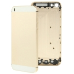 Full Housing Alloy Replacement Back Cover for iPhone 5 (Light Gold)