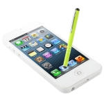 Pen Style Stylus Touch Pen for iPhone 5 / iPhone 4 & 4S / 3GS / iPad 4 / New iPad / All Capacitive Screen Products (Fluorescent Green)