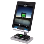 Stand Charger & Non Contact Charger for iPad 2/iPad, iPhone 4 & 4S