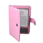 Leather case for Amazon Kindle 3 (Pink)