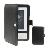 High Quality Leather case for Amazon Kindle 3 (Black)