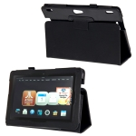 High Quality Leather case for Amazon Kindle 4 (Black)