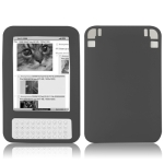 Silicone Case for Amazon Kindle 3 (Black)