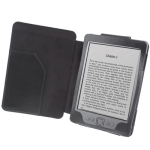 Leather Case with Litchi Texture for Amazon Kindle 4 (Black)