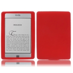 Silicone Case for Amazon Kindle 4 (Red)