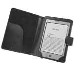 6 inch Book Style Cover With Magnetic Clasp for Amazon Kindle Touch / Touch 3G (Black)