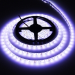 Epoxy Waterproof White LED 5050 SMD Rope Light, 60 LED/M, Length: 5M