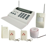 wireless and wired Intelligent Alarm System, Frequency: 433MHZ