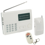 KH8916 8 Wireless Zones Intelligent Electronic Security Alarm System with Keyboard, Frequency: 315MHz