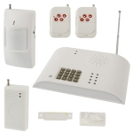 Intelligent Telephone Networking Alarm System, 8 Wireless and 4 Lined Area, 5 Groups Telephone and 20 Seconds Voice Warning