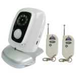 GSM Remote CCTV Camera and Alarm System with human body sensor, Night light, 315MHZ, Support 4GSM Bands(850/900/1800/1900)