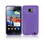 Translucency TPU Case for Samsung i9100 / Galaxy S2 (Purple)