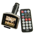 1.8 inch LCD Screen Car MP4 Player with FM Transmitter, Support SD Card