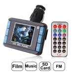 1.8 inch LCD Screen Car MP4 Player with FM Transmitter, Support Micro SD Card