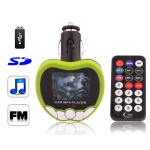 1.8 inch LCD Screen Car MP4 Player with FM Transmitter, Support Micro SD / SD Card