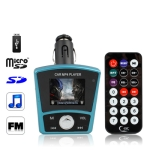 1.8 inch Car MP4 Player with FM Modulator, Supports USB Flash Diver and TF / SD Card