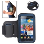 Sports Armband Case with Earphone Hole for Samsung Galaxy S2 / i9100 (Blue)