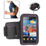 Sports Armband Case with Earphone Hole for Samsung Galaxy S2 / i9100 (Pink)