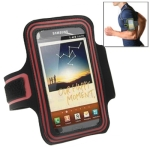 Sports Armband Case with Earphone Hole for Samsung Galaxy Note / i9220 / N7000 (Pink)