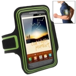 Sports Armband Case for Samsung Galaxy Note / i9220 / N7000 (Green)
