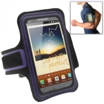 Sports Armband Case for Samsung Galaxy Note / i9220 / N7000 (Purple)