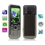 MFU 6800, Analog TV (SECAM/PAL/NTSC)/ Bluetooth FM function, Dual Sim cards Dual standby Mobile Phone, Quad band, Network: GSM850/ 900 / 1800/ 1900MHZ