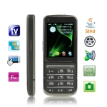 C3 Black, Russian Keyboard, Analog TV (PAL/NTSC), JAVA Bluetooth FM function Touch Screen Mobile Phone, Dual sim card Dual standby, Quad band, Network: GSM850/ 900 / 1800/ 1900MHZ