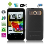 Hero H7300 Black + GPS, Android 2.3 Version, 4.3 inch Capacitive Touch Screen, Wifi & Bluetooth FM function Mobile Phone, Dual Sim cards Dual standby Dual Cameras, WCDMA + GSM Network, Band (WCDMA): 850/1900/2100MHZ; Band (GSM): 850/900/1800/1900MHZ