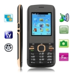 M300 Copper, Russian Keyboard, Big Speaker, Analog TV (PAL/NTSC), Dual sim cards Dual standby, Bluetooth FM function Mobile Phone, Dual band, Network: GSM900 / 1800MHZ