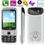 B3 Black, Russian Keyboard, Big Speaker, Bluetooth FM function Mobile Phone, Dual sim cards Dual standby, Dual band, Network: GSM900 / 1800MHZ
