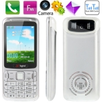 B3 Blue, Russian Keyboard, Big Speaker, Bluetooth FM function Mobile Phone, Dual sim cards Dual standby, Dual band, Network: GSM900 / 1800MHZ