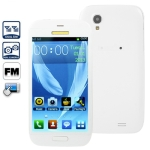 TC9300 White, JAVA Bluetooth FM function Touch Screen Mobile Phone, Dual Sim cards Dual standby, Quad band, Network: GSM850/ 900 / 1800/ 1900MHZ