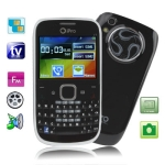 i7 Black, Analog TV (PAL/NTSC/SECAM), QWERTY Keyboard, Bluetooth FM function Mobile Phone, Quad band, Network: GSM850/ 900 / 1800/ 1900MHZ