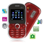 S700 Red, Russian Keyboard, Bluetooth FM function Mobile Phone, Dual sim cards Dual standby, Dual band, Network: GSM900 / 1800MHZ