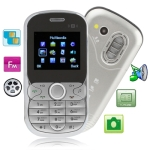 S700 Silver, Russian Keyboard, Bluetooth FM function Mobile Phone, Dual sim cards Dual standby, Dual band, Network: GSM900 / 1800MHZ