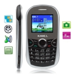 KA10 Black, Russian Keyboard, Bluetooth FM function Mobile Phone with Metal battery cover, Dual sim cards Dual standby, Dual band, Network: GSM900 / 1800MHZ