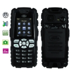 S8, Dustproof + Shockproof Mobile Phone with Flashlight, Bluetooth &amp; FM Function, Single SIM Card, Network: GSM900/ 1800/ 1900MHz (Black)