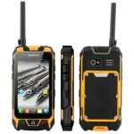 LV599 Yellow, Waterproof IPX1+ Dustproof + Shockproof Flip Mobile Phone, Bluetooth FM function, Dual Sim cards Dual standby, Dual band, Network: GSM900 / 1800MHZ