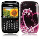 Cartoon Series Plastic Case for Blackberry 8520 / 8530