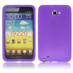 Silicone Case for Samsung Galaxy Note / i9220 / N7000 , Note LTE / N7005  (Purple)