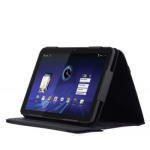 Calfskin Material, Perfect Design Protection Leather Case for Motorola Xoom