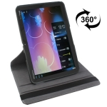 360 Degree Rotatable Leather Case with Holder for Motorola Xoom